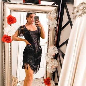1920s flapper costume great gatsby sequin dress